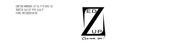 Zed Up Gaming PC Logo Kontakt