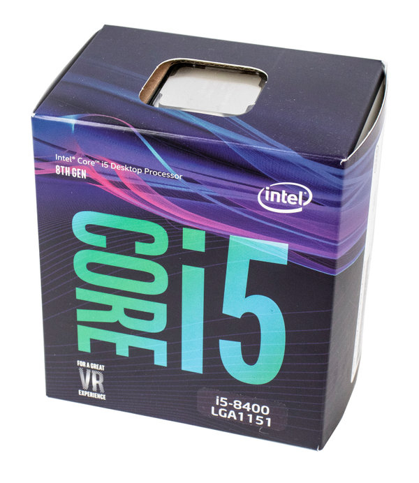 Intel Core i5-8400, 6x 2.80GHz
