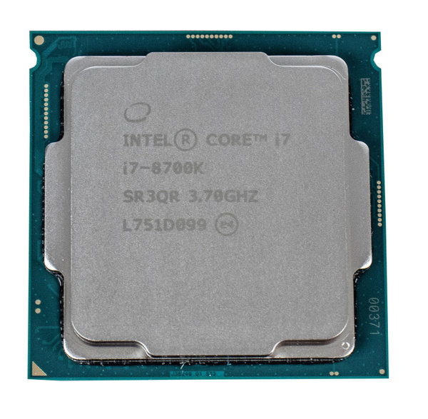Intel Core i7-8700K, 6x 3.70GHz 12 Threads