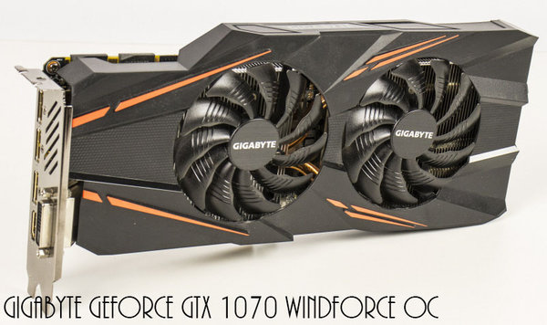 Gigabyte GeForce GTX 1070 Windforce OC, 8GB GDDR5, DVI, HDMI, 3x DisplayPort