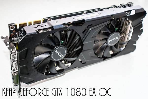 KFA² GeForce GTX 1080 EX OC, 8GB GDDR5X, DVI, HDMI, 3x DisplayPort