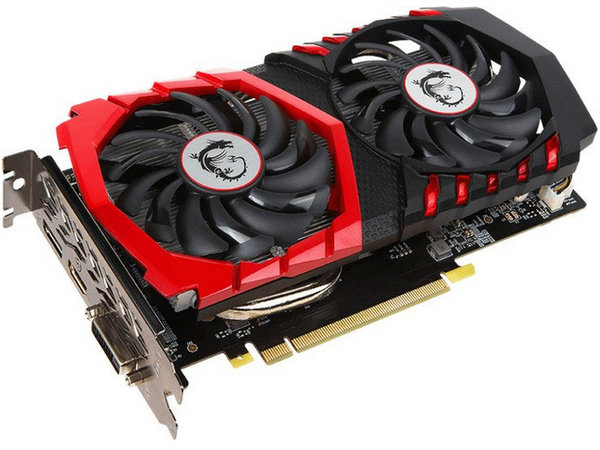 MSI GeForce GTX 1050 Ti Gaming 4G, 4GB GDDR5, DVI, HDMI, DP