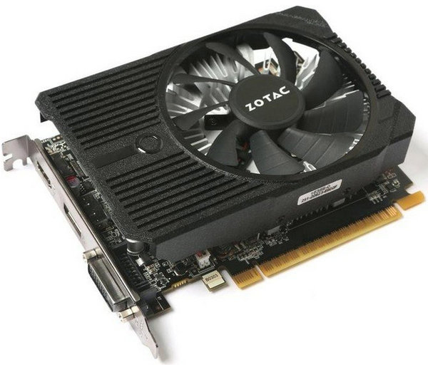Zotac GeForce GTX 1050 Ti Mini, 4GB GDDR5, DVI, HDMI, DP