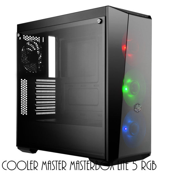 Zed Up Gaming PC RGB - Intel Core i5-8400, RTX 2070 8 GB, 16 GB DDR4-RAM