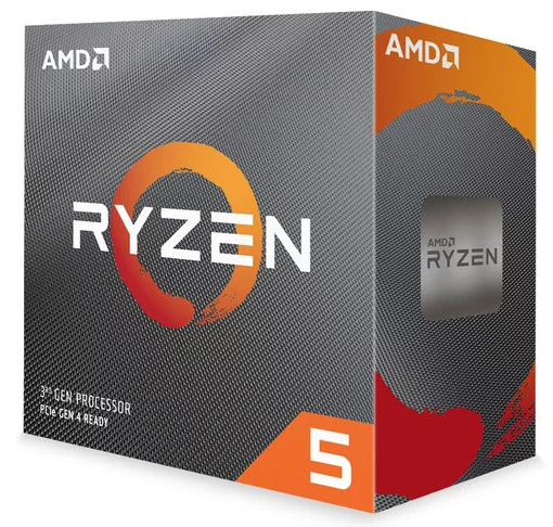 AMD Ryzen 5 3600, 6x 3.60GHz 12 Threads