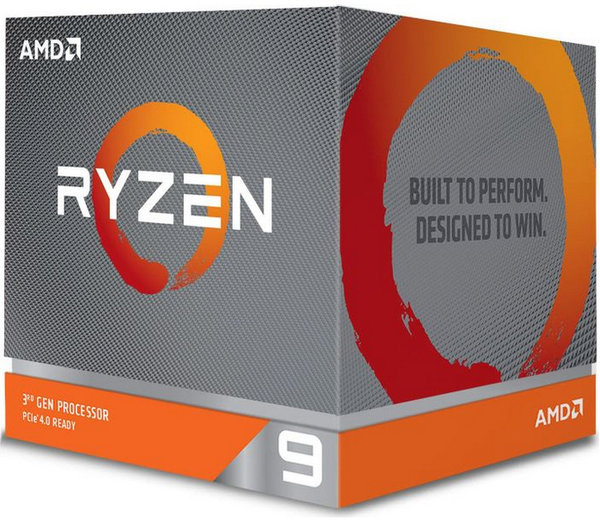 AMD Ryzen 9 3900X, 12x 3.80GHz 24 Threads