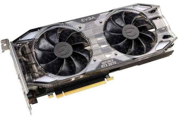 Mieten - EVGA GeForce RTX 2070 XC Gaming, 8GB GDDR6, HDMI, 3x DP, USB-C